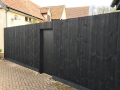 7ft 6in featheredge fence (front)