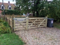 Gates and picket fencing