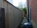 Multi-tiered featheredge fence