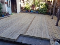 Deck terrace: completed